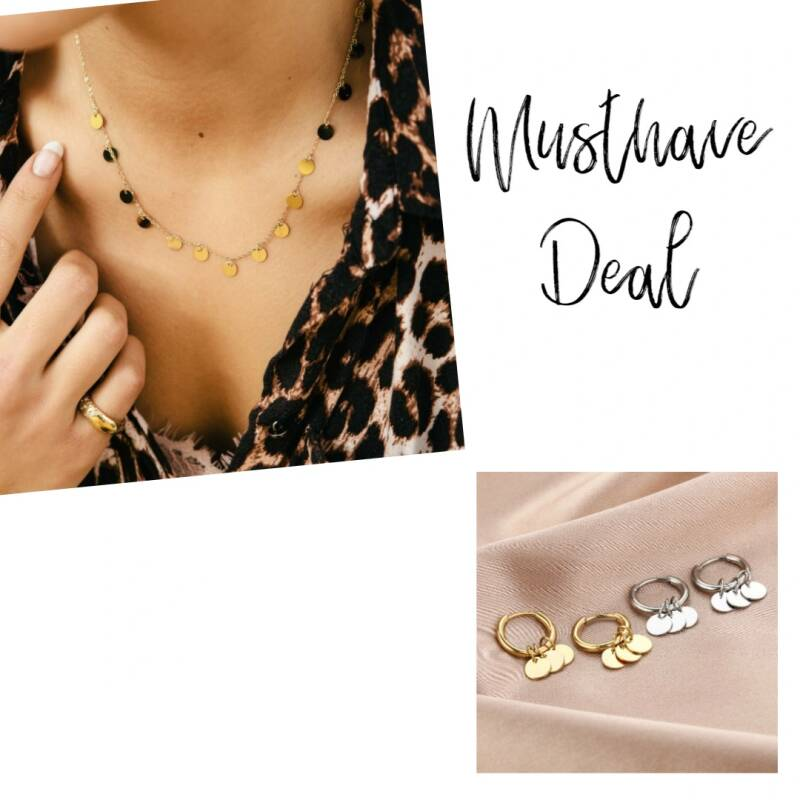 Musthave Deal - Sieradenset Coins