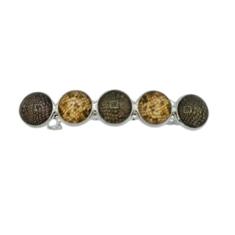 Haarspeld Cabochons Snake Green