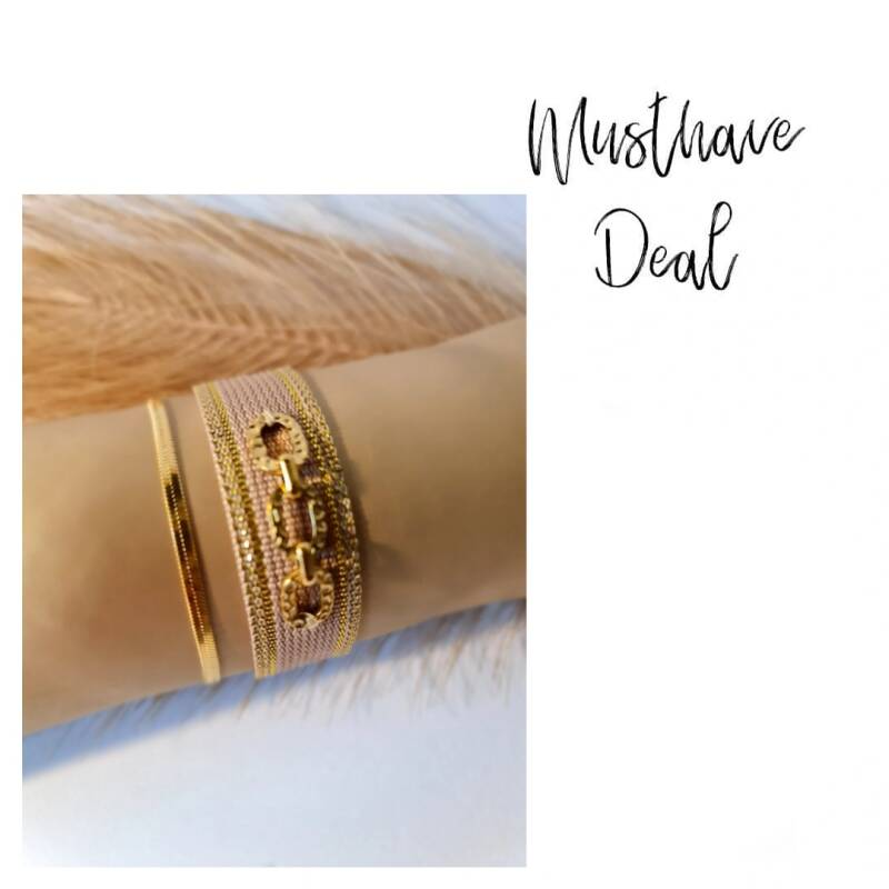 Musthave Deal - Armbandenset Chic Love