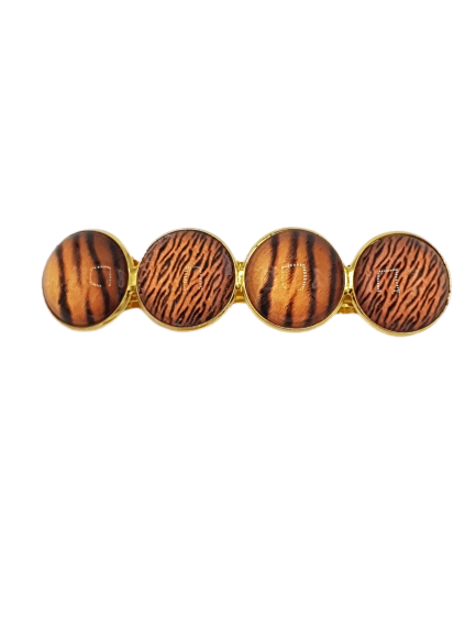 Haarspeld Cabochons Stripes