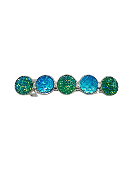 Haarspeld Cabochons Mermaid Green