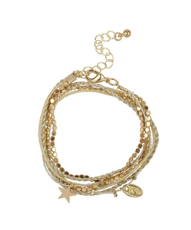 Rakhi Star armband Sea Shell White