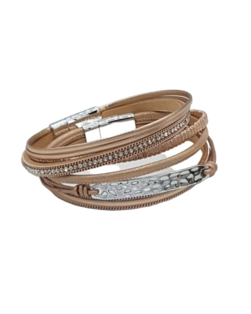 Wikkelarmband Double XL Rose Gold