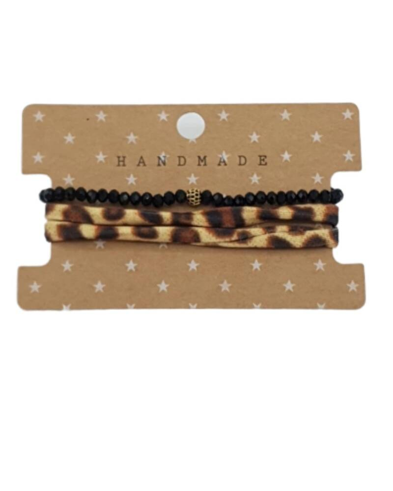 Armbandenset Panther Black