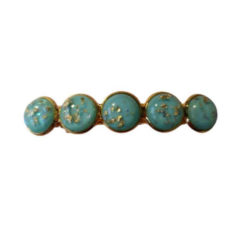 Haarspeld Cabochon Blue Love