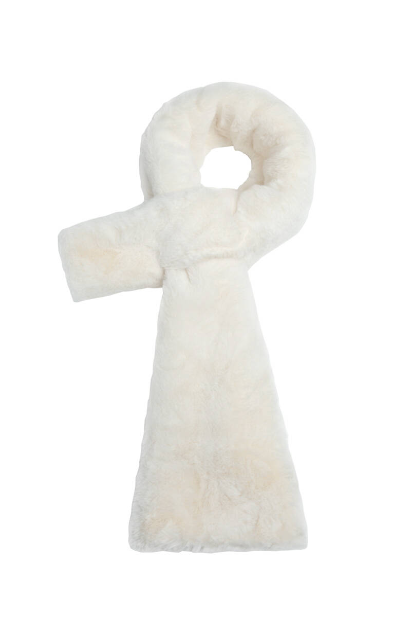 Sjaal Fluffy Off-White