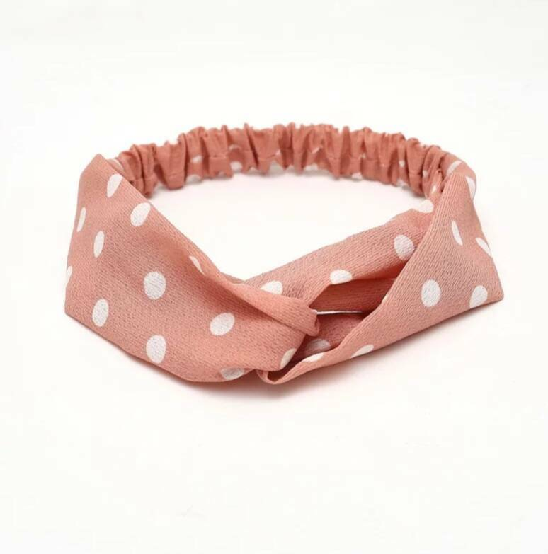 Haarband Pink Dots