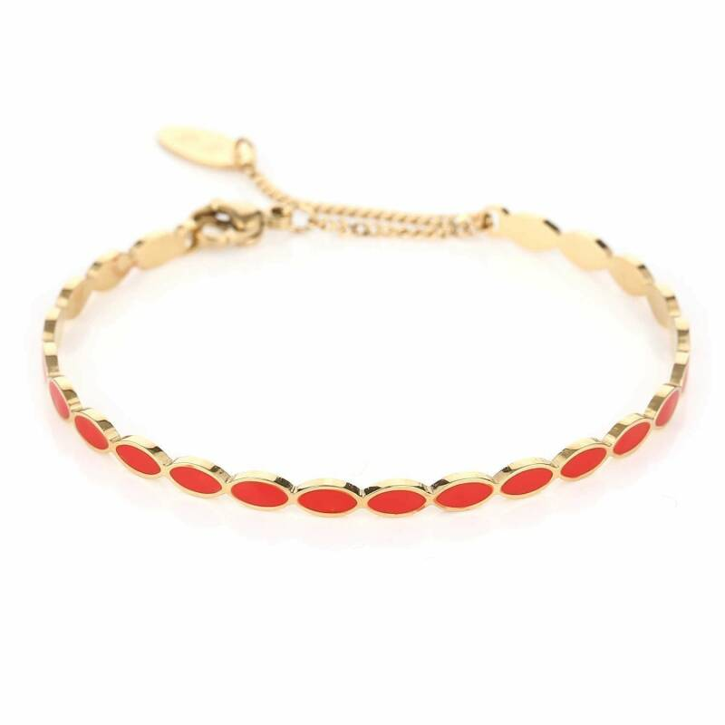 Bangle Colourful Red