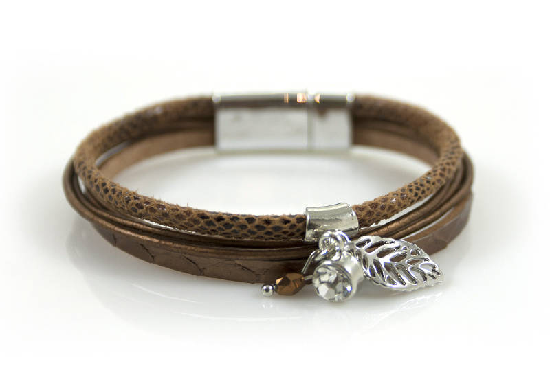 Wikkelarmband Brown