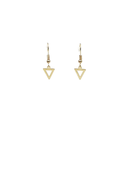 Oorbellen Triangle Gold
