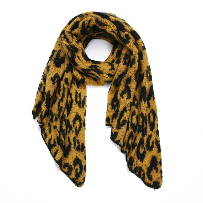 Sjaal Winter Leo Yellow