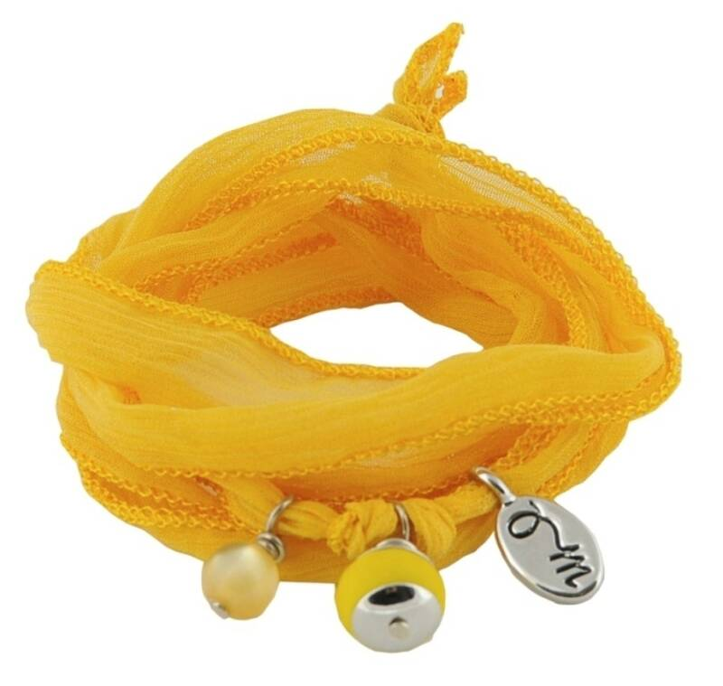 Rakhi Happiness armband Lemon Zest
