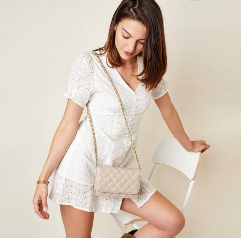 Tas Quilted - Wit