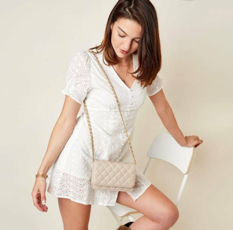 Tas Quilted - Offwhite