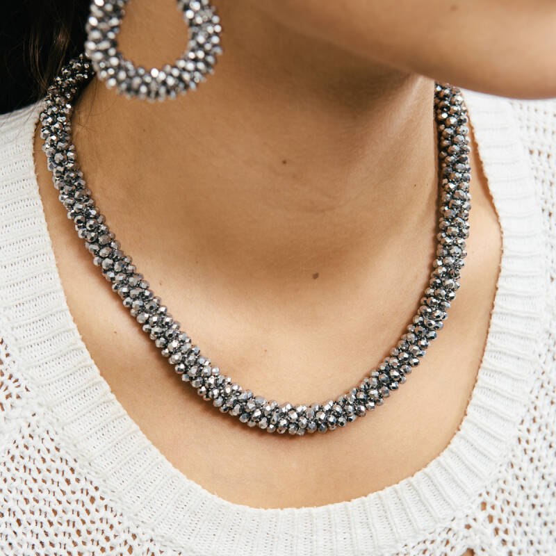 Ketting Sparkle Zilver