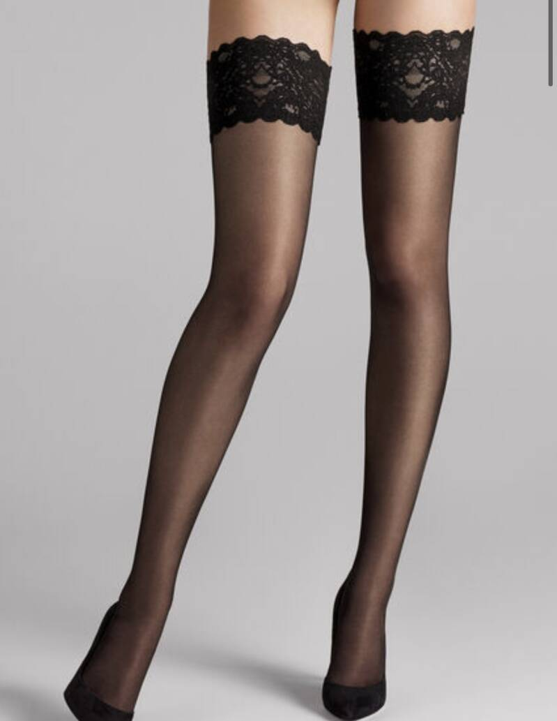 Wolford! Satin touch 20 Black