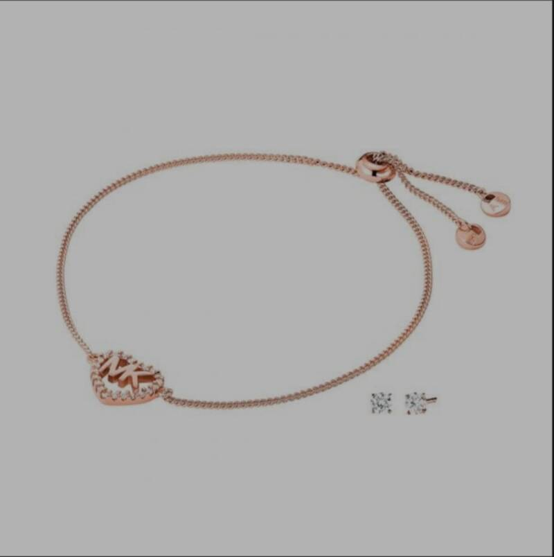 MICHAEL KORS BRACELET & EARRINGS