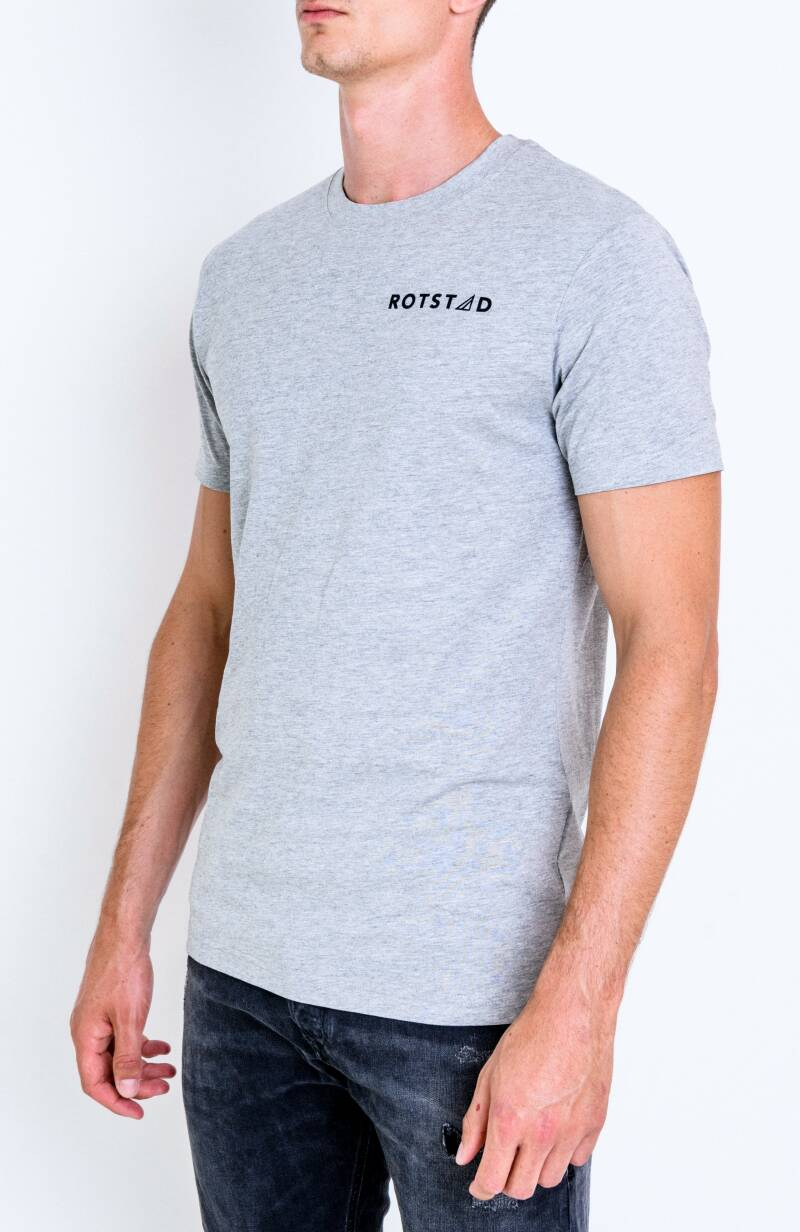 ROTSTAD T-SHIRT BASIC GREY