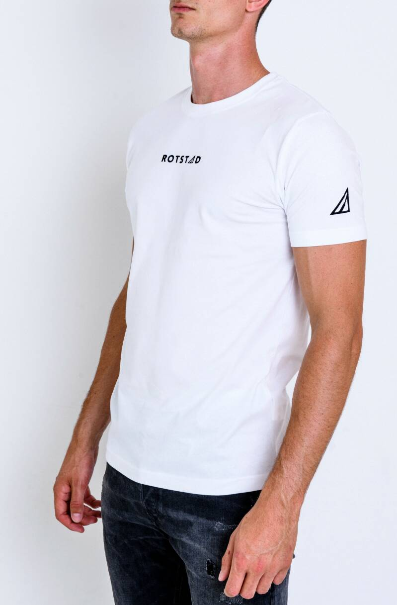 ROTSTAD T-SHIRT BASIC WHITE#2