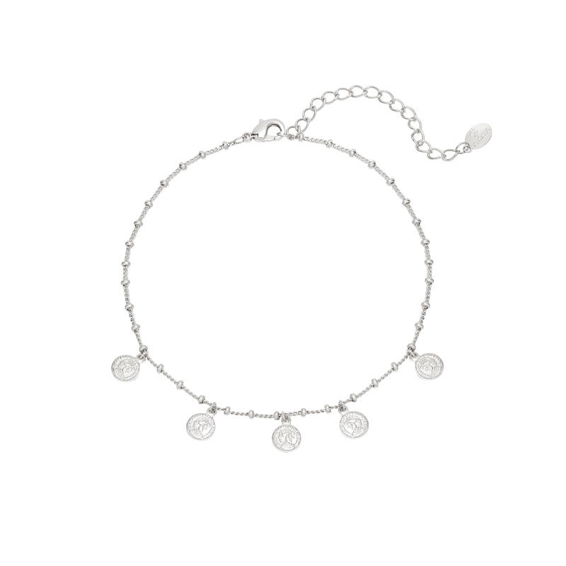 ANKLET TINY COINS