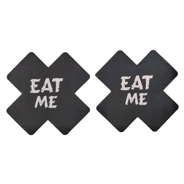 EAT ME tepel stickers
