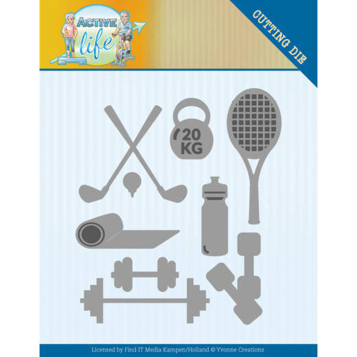 Yvonne Creations, Snijmal, Active Life, Active Sports - YCD10194