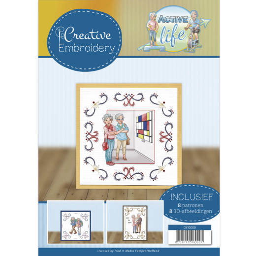 Yvonne Creations, Creative Embroidery, Active Life - CB10009