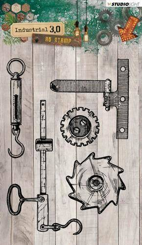 Studiolight, Clear Stamp, Industrial 3.0 - STAMPIN317