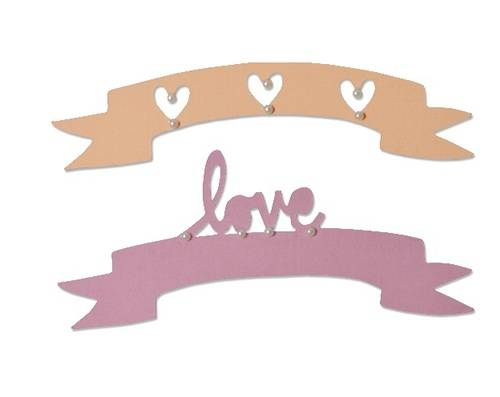 Sizzix, Thinlits, Love & Wishes #2 - 660826