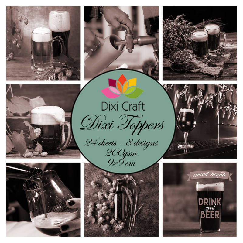 Dixi Craft, Toppers, Beer Brown - ET0340