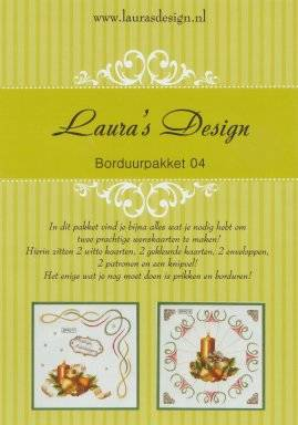 Laura's Design, Borduurpakket 04