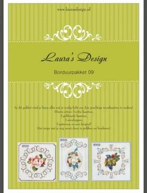 Laura's Design , Borduurpakket 09