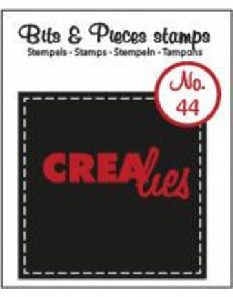 Crealies, Clear Stamp, Bits & Pieces , nr. 4 - CLBP44