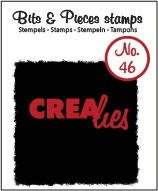 Crealies, Clear Stamp, Bits & Pieces, nr. 46 - CLBP46