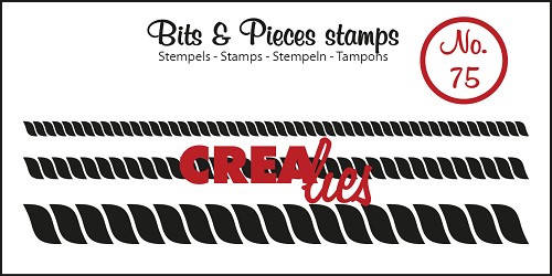 Crealies, Clear Stamp, Bits & Pieces, Rope, 3 sizes - CLBP75
