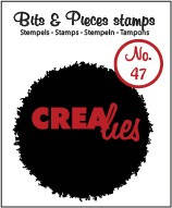 Crealies, Clear Stamp, Bits & Pieces,  Nr. 47- CLBP47