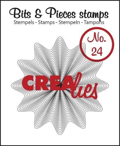 Crealies, Clear Stamp, Bits & Pieces, Zigzags in Zigzag - CLBP24