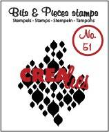 Crealies, Clear Stamp, Bits & Pieces, Nr. 51  - CLBP51