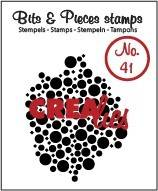 Crealies, Clear Stamp, Bits & Pieces, Nr. 41  - CLBP41