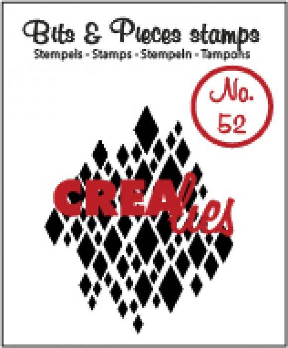 Crealies, Clear Stamp, Bits & Pieces, Nr. 52 - CLBP52