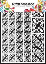 Dutch Doobadoo, Paper Art, Corners - 472.948.004