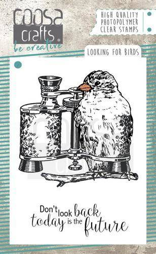 Coosa Crafts, Clear Stamp, Looking For Birds -  COC-051