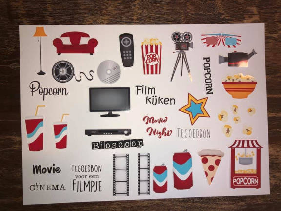 Daantje, Die Cuts, At The Movie, Glossy
