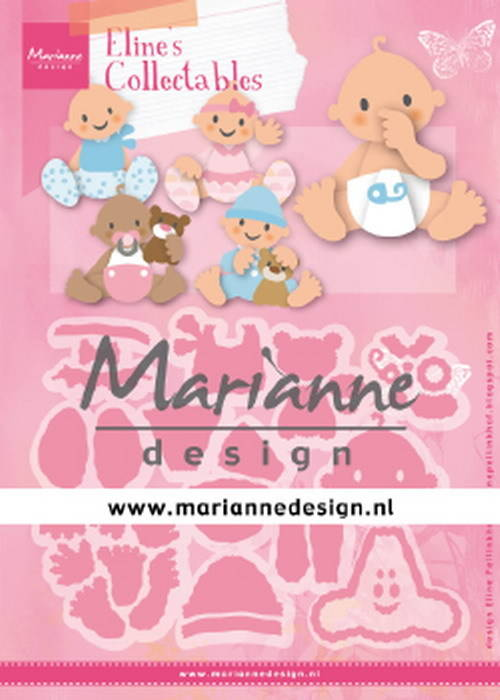 Marianne Design, Collectable, Eline's Babies - COL1479