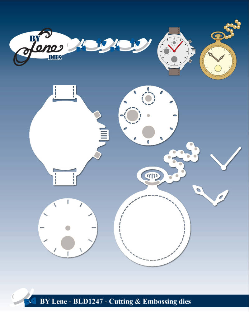 By Lene , Snijmal, Watches - BLD1247