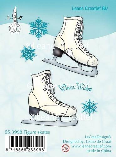 Leane Creatief, Clear Stamp, Figure Skates - 55.3998