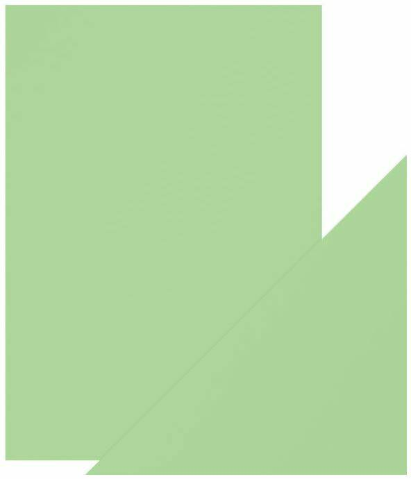 Tonic Studios, Pearlescent Card, Fresh Mint, A4 formaat - 9514E