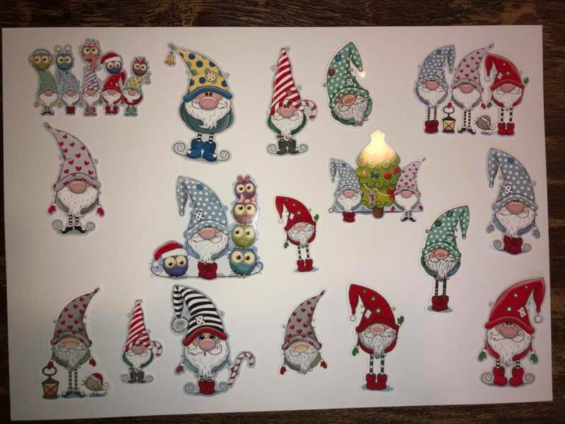 Daantje, Die Cuts, Gnome,  Glossy
