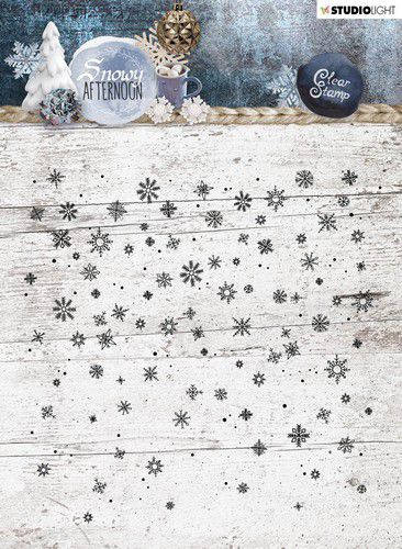 Studiolight, Clear Stamp , Snowy Afternoon  - STAMPSA401
