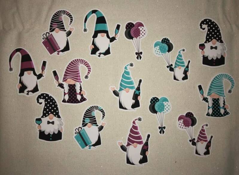 Daantje, Die Cuts, Gnomes New Year